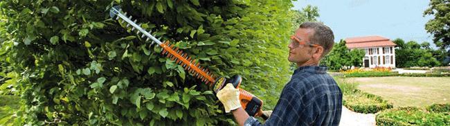 Nářadí pro péči o živé ploty a dřeviny