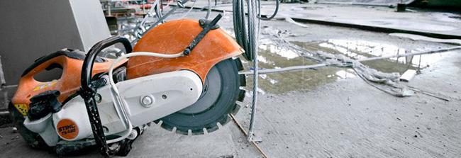 Rozbrušovací stroje STIHL